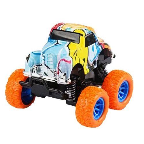 Wild Autocross muster LKW Jungen 9 cm Stahl orange