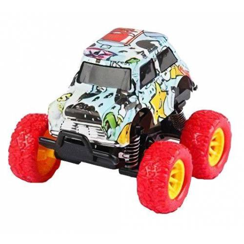Wild Autocross muster LKW Jungen 9 cm Stahl rot