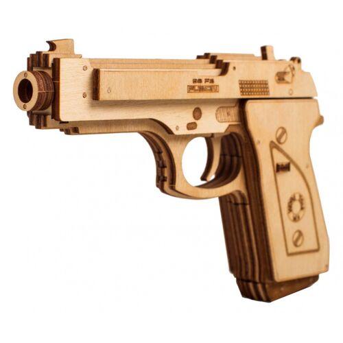Wood Trick modell Bausatz Pistolenholz 18 cm 50 teilig