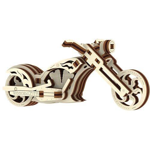 Wooden City Holz 3D Puzzle Häcksler 10 cm