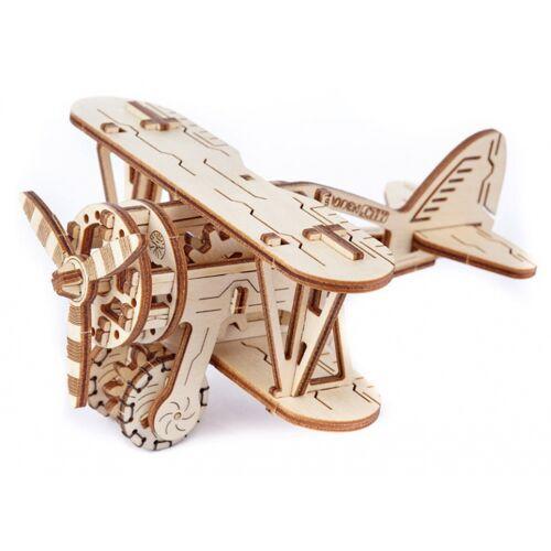 Wooden City modellflugzeug Bausatz Holz natur 63 Teile