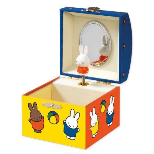 Bambolino Toys spieldose Nijntje MDF/Karton gelb/orange/blau
