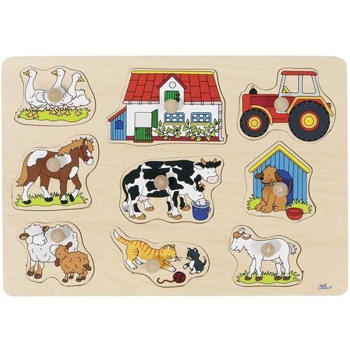 Goki 9 teiliges Puzzle Farm