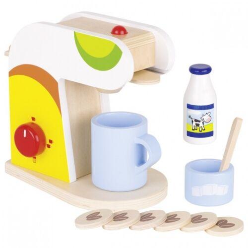 Goki Holz Kaffeemaschine Set 11 Stück