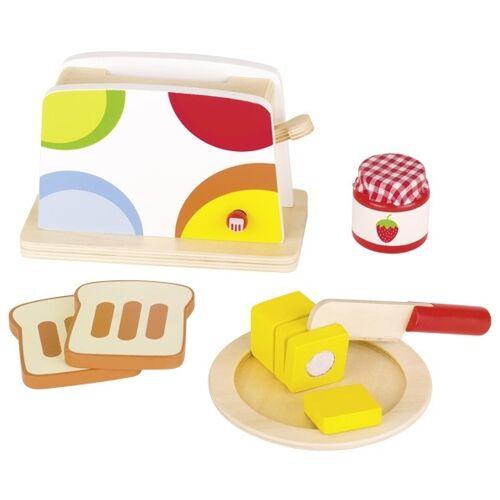 Goki Holz Toaster Set 10 Stück