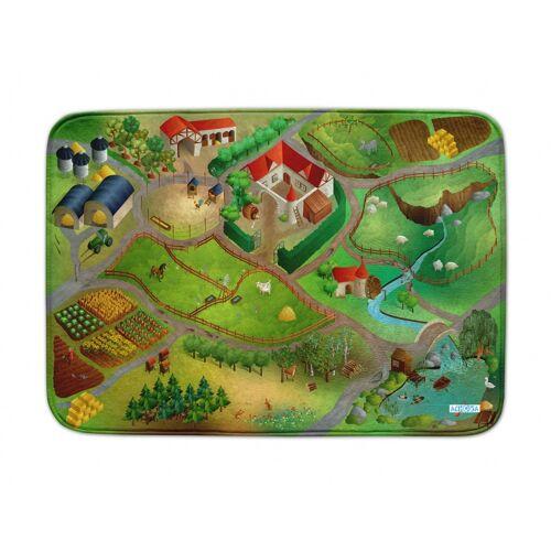 ACHOKA Spielteppich Farm uns Connect 100 x 150 cm