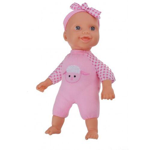 LG Imports babypuppe 22 cm rosa