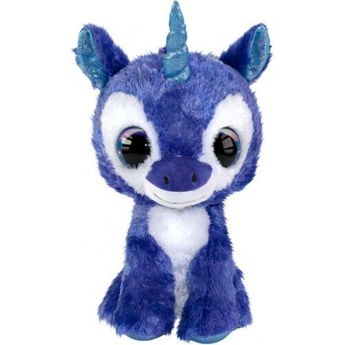 Lumo Stars kuscheltierhorn Lumo Unicorn Velvet 15 cm blau