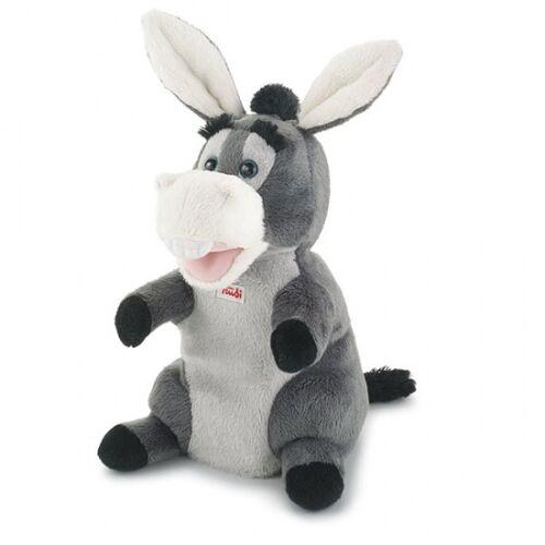 Trudi Donkey Handpuppe 25 cm Grau
