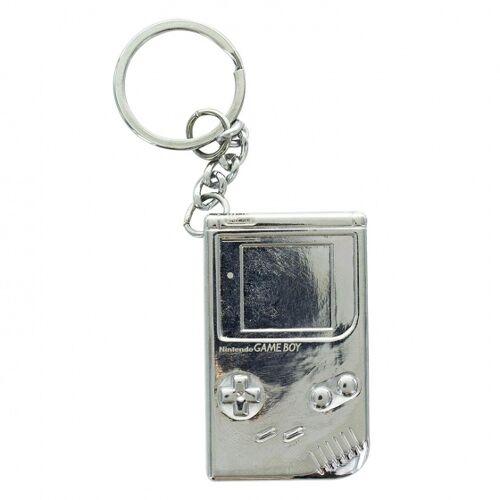 Paladone schlüsselanhänger Nintendo Gameboy 3D 5 cm Silber
