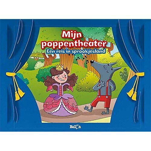 Ballon Mein Puppentheater   Eine Reise ins Märchenland   blau