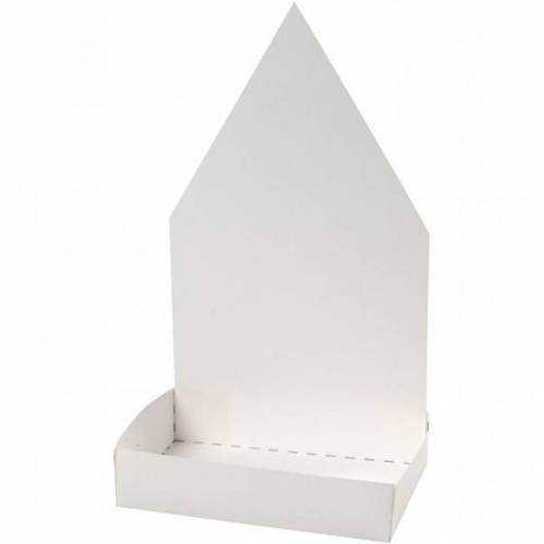 Creotime gartenkressenhaus Junior 20 cm Karton weiß 6 Sets