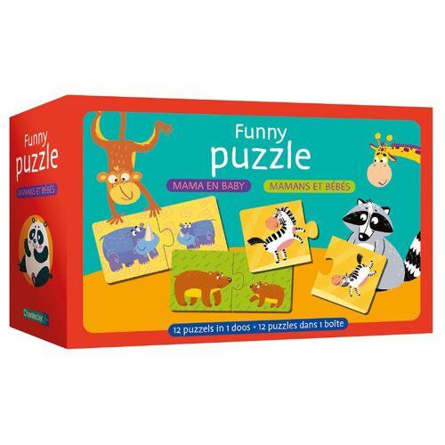 Deltas puzzle Mama und Baby Junior Karton 24 Teile