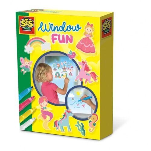 Creative SES Creative Fensterspaß Prinzessin 20 x 15 cm