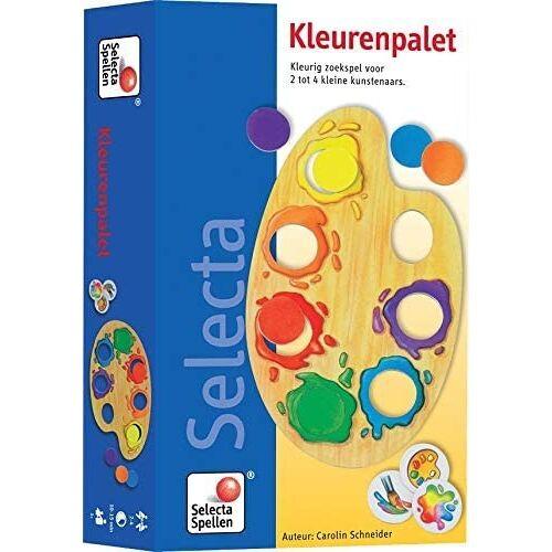 999 Games suchspiel Farbpalette 11,5 x 18 cm Karton