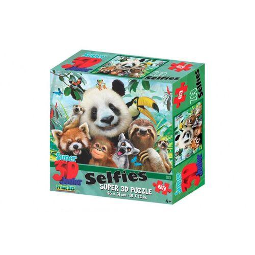 PRiME 3D 3D Puzzle Kids Zoo 63 Stück