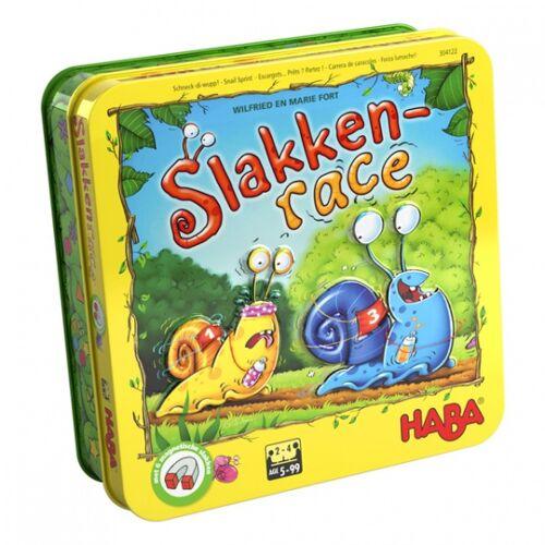 Haba brettspiel Schneckenrennen Junior Holz/Karton 30 teilig De