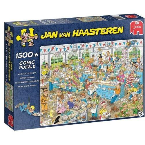 Jumbo puzzle Jan van Haasteren Kuchen Turnier 1500 Stück