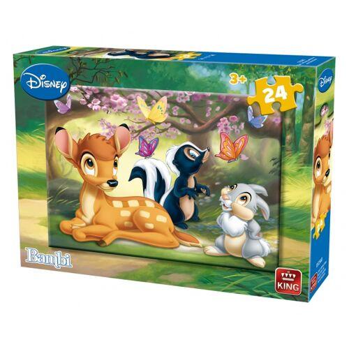 King puzzle Bambi 24 Teile