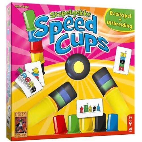 999 Games action Spiel Stacky Speed Cups 6 Spieler
