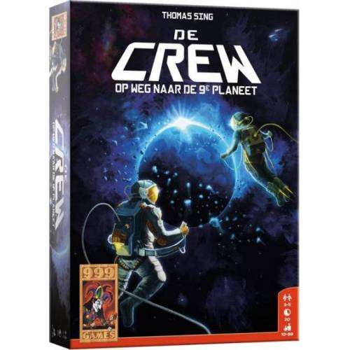 999 Games kooperatives Spiel The Crew Karton blau 99 teilig