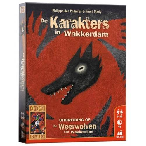 999 Games kartenspiel Die Werwölfe Van Wakkerdam: Charaktere