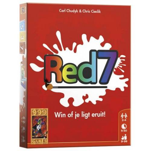 999 Games kartenspiel Rot 7