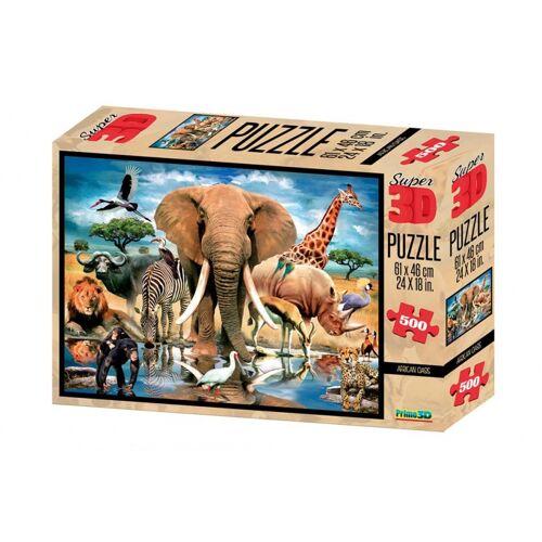 PRiME 3D 3D Puzzle afrikanische Oase 500 Stück