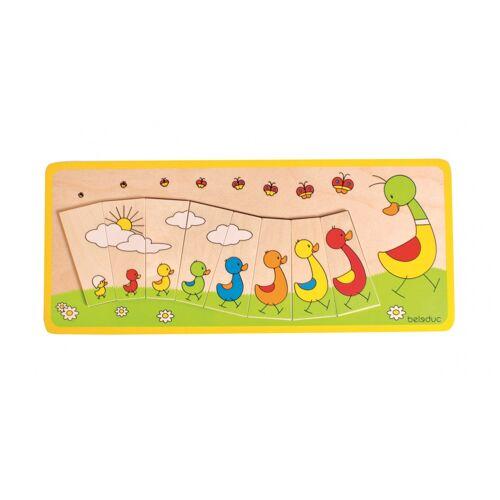 beleduc puzzle Ente Familie 8 Teile