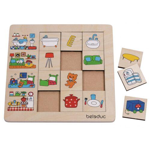 beleduc puzzle unser Haus 12 Teile 25 cm