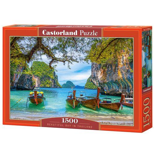 Castorland jigsaw Puzzle Schöne Bucht in Thailand 1500 Teile