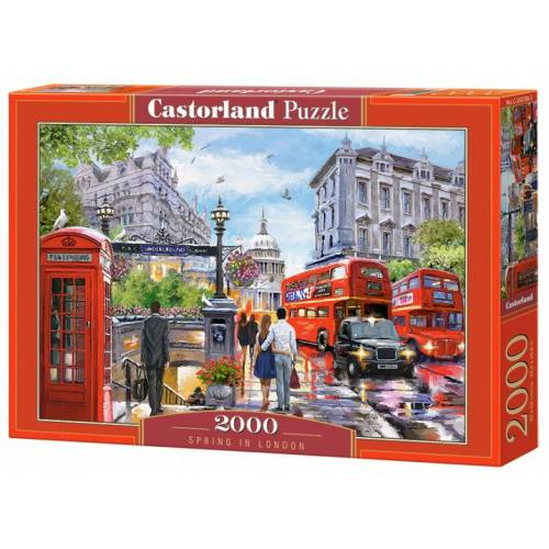 Castorland jigsaw Puzzle Frühling in London 2000 Teile
