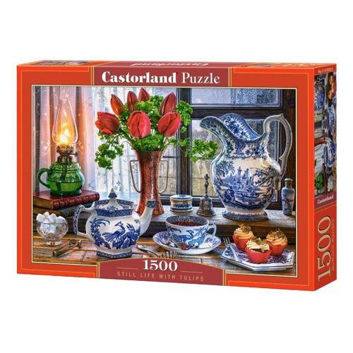 Castorland puzzle Stillleben mit Tulpen 1500 Teile