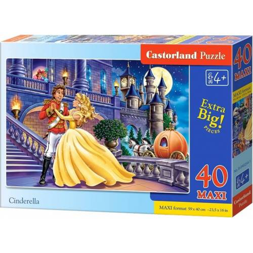 Castorland Cinderella Maxi Boden Puzzle 40 Stück