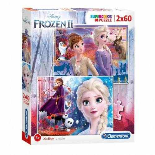 Clementoni Disney Frozen 2 Puzzle 2 Puzzle 2 Puzzles 60 Teile