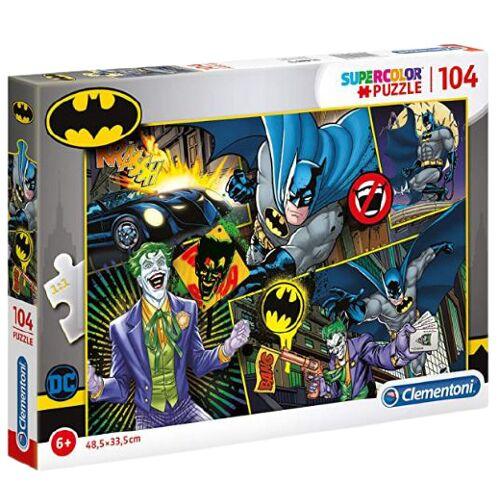 Clementoni puzzle Batman junior 48 x 33 cm Karton 104 Teile