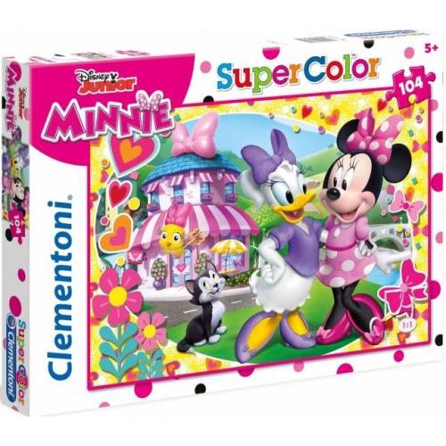 Clementoni puzzle Disney Minnie junior karton 104 teile