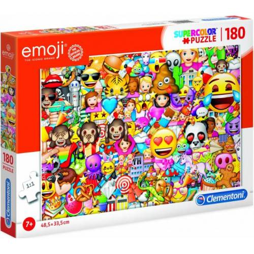 Clementoni puzzle Emoji junior karton 180 stück