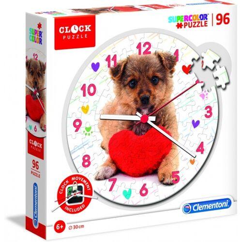 Clementoni puzzleuhr Puppy 30 cm Junior 96 Teile