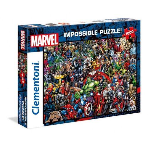 Clementoni puzzle Marvel Impossible Puzzle1000 Teile
