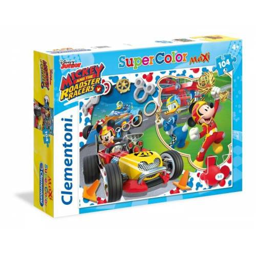 Clementoni puzzle Mickey Mouse Racers 104 Teile