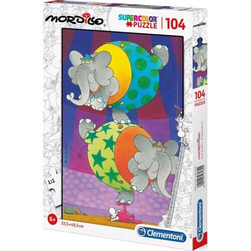 Clementoni puzzle Mordillo junior karton104 teile