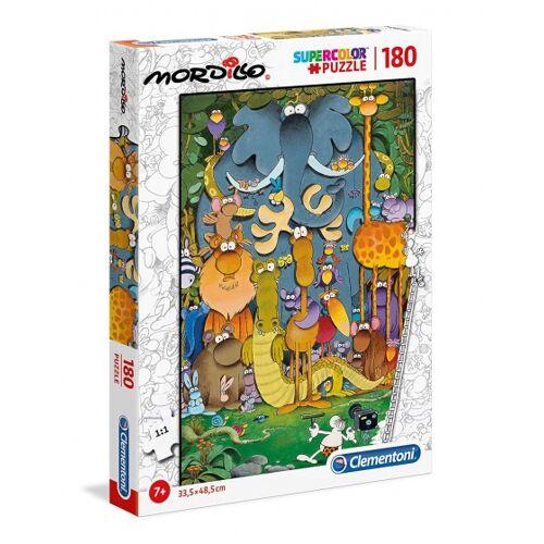 Clementoni puzzle mit Mordillo Supercolor180 Teilen