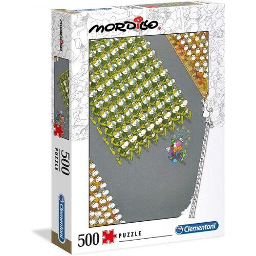 Clementoni puzzle Mordillo  die 500 Teile vom März