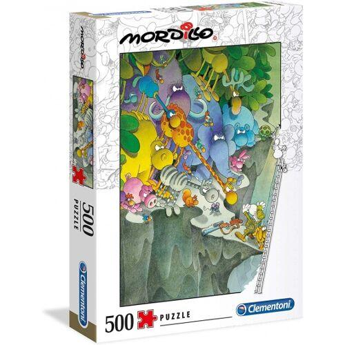 Clementoni puzzle Mordillo  die Kapitulation 500 Teile