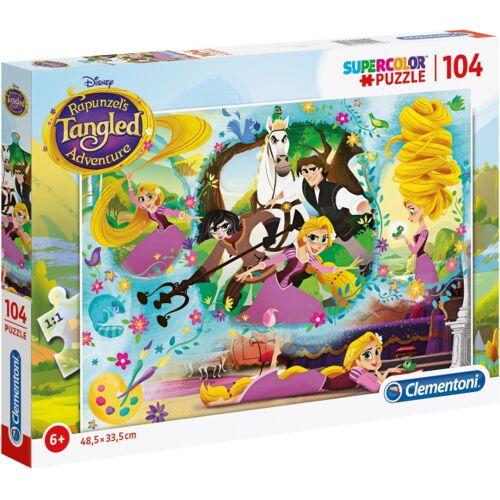 Clementoni puzzle Rapunzel junior karton 104 teile