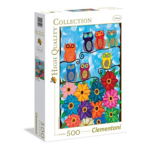 Clementoni Puzzle Eulen HQ 500 Teile