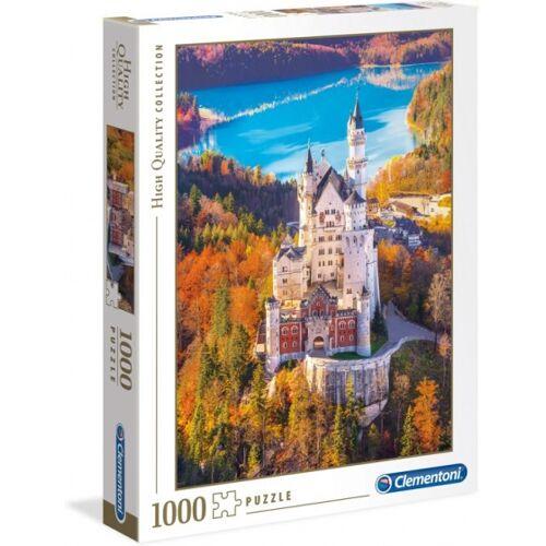 Clementoni puzzle Schloss Neuschwanstein 1000 Teile