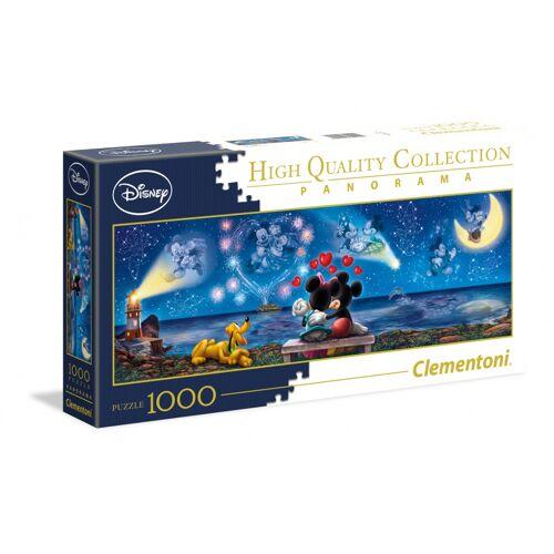 Clementoni puzzle PanoramaDisney Mickey und Minnie 1000 Teile