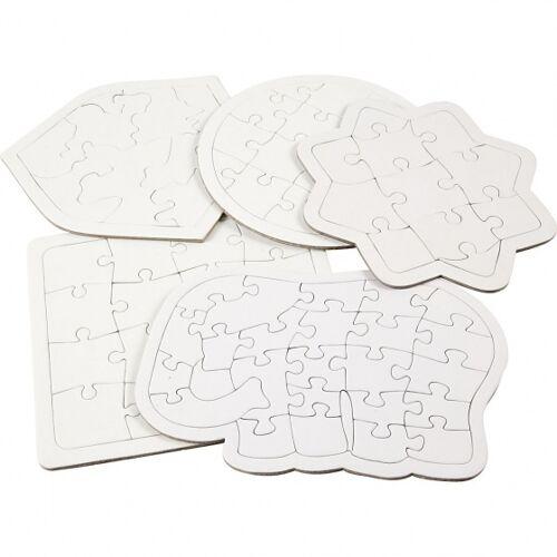 Creotime leeres Puzzle 5x2 Teile